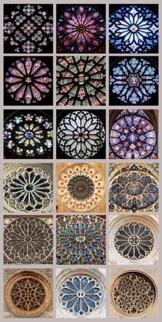 Chapter 9, Part 2 Example of rose windows