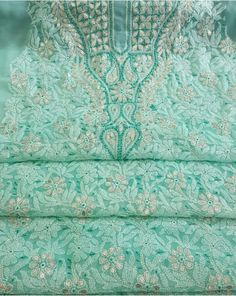 Hand work authentic Chikankari work reliving its own story Roman Shades, Kurtis, Indian Wear, Desi, Saree, Clothes For Women, Clothing, How To Wear, Outerwear Women