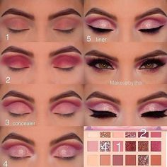 Gorgeous Makeup: Tips and Tricks With Eye Makeup and Eyeshadow – Makeup Design Ideas Huda Beauty Eyeshadow, Nude Eyeshadow, Nude Makeup, Skin Makeup, Eyeshadow Palette, Eyeshadows, Mascara Hacks, Make Up Designs, Make Up Palette