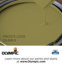 FROG'S LEGS OL698.6 is a part of the greens collection by Olympic® Paint.