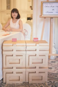 58491a71f6bf4 Double happiness ang pao box Wedding Card Design