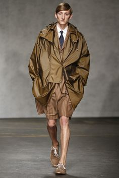 E. Tautz Men's RTW Spring 2015 [Photo by Giovanni Giannoni]