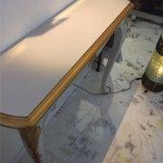 Consola beige oro estilo classico - Beldecor Interiorismo y Galeria