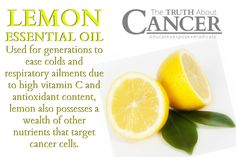 Biting into a lemon can leave a sour taste in your mouth, but discover the sweet side of lemon essential oil for stopping the spread of certain cancers. Click to read or pin to save for later! // The Truth About Cancer