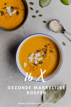 As much as I love Thai food and the flavor of coconut and curry, I still didn't think I'd be a huge fan of this soup - boy was I wrong. SO simple and delicious! Fall Recipes, Soup Recipes, Dinner Recipes, Healthy Recipes, Healthy Soups, Pumpkin Recipes, Healthy Food, Keto Recipes, Stay Healthy
