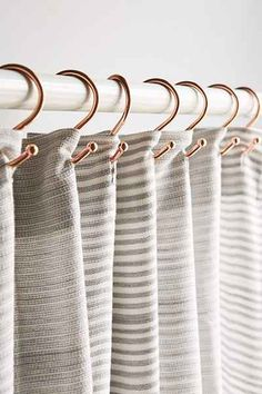 Copper Shower Curtain Hooks - Urban Outfitters