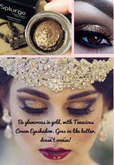 Gorgeous Younique Splurge Cream Shadow in Tenacious! Www.Youniqueproducts.com/aliviabienko