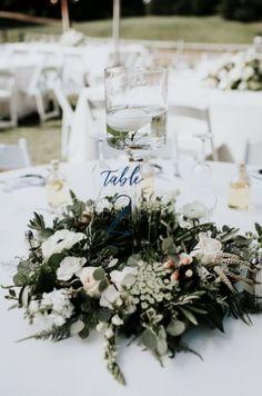 Featured Photographer: Dawn Charles; wedding centerpiece idea