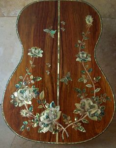 Have one to sell? Sell now  Details about   A Masterpiece! Custom Handmade Classical Guitar Mother of Pearl & Abalone Inlay