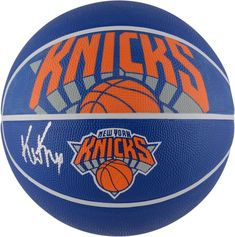 0112af2e4a61 Kevin Knox New York Knicks Autographed Spalding Courtside Logo Basketball - Fanatics  Authentic Certified. Team  New York Knicks. This basketball has been ...