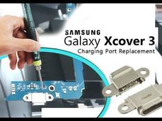 Samsung Xcover 3 (SM-G388F) Charging Port Replacement / Wymiana złącza u...