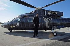Kobe Bryant of the Los Angeles Lakers poses for a photo in front of the helicopter he took to his last game against the Utah Jazz on April 2016 at Staples Center in Los Angeles, California. Get premium, high resolution news photos at Getty Images Vanessa Bryant, Los Angeles Lakers, Los Angeles Police Department, Kobe Bryant Black Mamba, Last Game, Nba Stars, F 16, Black Box, Lebron James