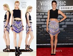 It's never a good idea to put a starburst on your cooch  Shailene Woodley In Emilio  Pucci - 2013 MTV Video Music Awards #VMAs