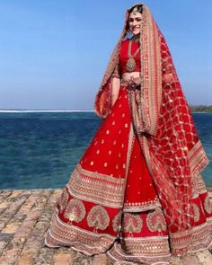 Always wanted to know - how much does Anushka Sharma and Deepika Padukone Lehenga Cost? Wedding lehenga prices revealed in this post.