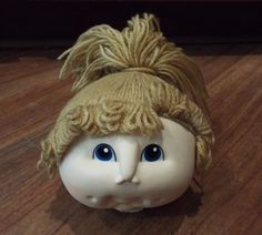 5 Vintage Fibre Craft Cabbage Patch Kids Style Martha Nelson Thomas Doll Heads | eBay