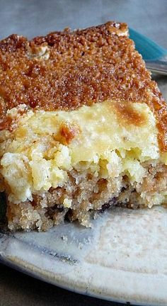 Fresh Apple Gooey Cake