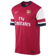 619c6670220b7 Arsenal FC (England) - 2013 2014 Nike Home Shirt