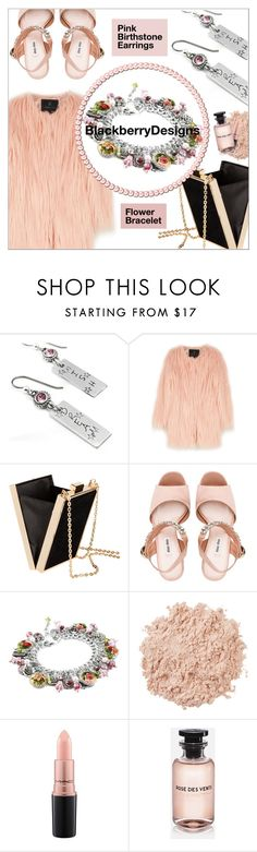 Buy here: https://www.etsy.com/shop/BlackberryDesigns?ref=l2-shopheader-name  Bracelet: https://www.etsy.com/listing/181371184/flower-jewelry-flower-bracelet-rose?ref=shop_home_active_3  Earrings: https://www.etsy.com/listing/227885614/pink-birthstone-earrings-engraved?ref=shop_home_active_7