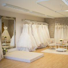A morning with Bea's Bridal boutique - Harbury Bridal Boutique Interior, Boutique Interior Design, Store Interiors, Wardrobe Design, Booth Design, Fashion Room, Stores, Store Design, Living Room Designs