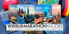 Los World Marathon Majors, son los 6 grandes maratones del Mundo con los que sueña todo corredor. Londres, Berlin, Chicago, Boston, Nueva York, Tokio. #worldmajorsmarathons #sixmajors #maratonmajor #nymarathon #berlinmarathon #londonmarathon #chicagomarathon Marathon, Boston, Chicago, Tokyo, World, Events, Running, Image, Hall Runner