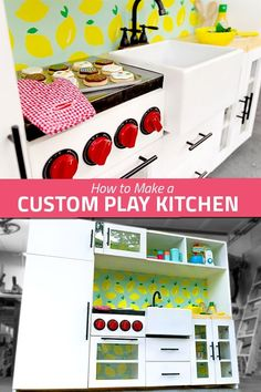 How to Build a Play Kitchen Diy Childrens Furniture, Diy Furniture Building, Outdoor Play Spaces, Fair Games, Toy Chest, To My Daughter, Have Fun, Custom Design, Kids Room