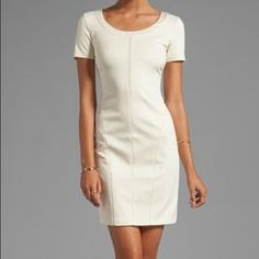 I just discovered this while shopping on Poshmark: Cream Halston Heritage Dress brand new with tags. Check it out!  Size: 0
