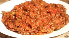 Berenjenas Guisadas|Stewed Eggplant|Sabor en tu Cocina|Ep. 109