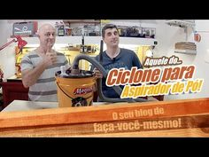Ciclone para Aspirador de Pó - Empoeirados - YouTube