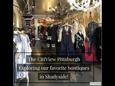 Boutique Shopping in Shadyside! Boutique Shop, Where To Go, Pittsburgh, Youtube, Shopping, Youtubers, Youtube Movies