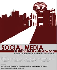 Social Media in Higher Education (pdf literature review & research directions) http://www.academia.edu/1220569/Social_Media_in_Higher_Education_A_Literature_Review_and_Research_Directions