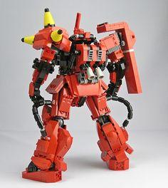 GUNDAM GUY: LEGO: Zaku II Johnny Ridden's Customized Mobile Suit