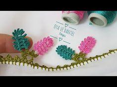 Crochet Borders, Needle Lace, Crochet Earrings, Make It Yourself, Youtube, Line Art, Craft, Towels, Bedspreads