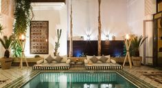 Located in the Medina, this traditional Riad is a 20-minute walk from the Jamaâ El Fna Square and Kotoubia Mosque.