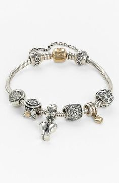 PANDORA charm bracelet? Yes, please!