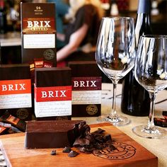 Brix Chocolate. Wine. Entertaining. Fun.