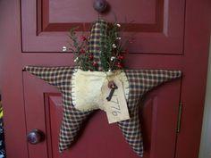 Primitive Patriotic Star Hanger/Door Greeter by MondaysChildPrims, $18.50