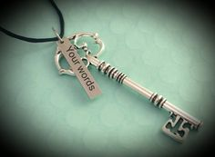 skeleton key ornament  housewarming ornament gift for realtor our first home skeleton key  home sweet home ornament personalized ornament by TiffysLove on Etsy