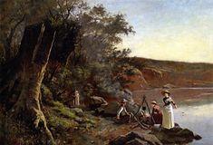 Picnic at Studley Park  Frederick McCubbin - 1885