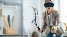 Panther Studio Private Limited is providing a customized business solution with VR or Virtual Reality technology for its clients. VR will help you to present your services to clients through VR headsets. Tennis Games, Sports Games, Tennis Photos, Tennis Racket, Vr, Virtual Reality, Nice Tops, India, Studio
