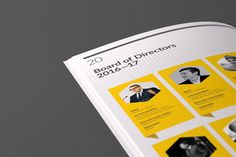 Brand Report on Behance
