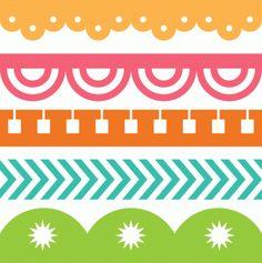 Silhouette Online Store - View Design #42003: 5 lori whitlock seamless borders