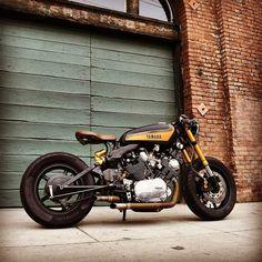 Best Ideas for bobber motorcycle honda cafe racer Virago Cafe Racer, Yamaha Cafe Racer, Yamaha Virago, K100 Scrambler, Motos Yamaha, Moto Bike, Cafe Racer Motorcycle, Motorcycle Outfit, Honda Cx500