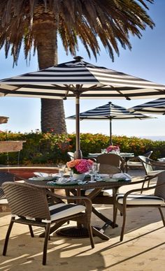 Featuring full-scale comfort you can fold, stack, and store, our Cafe Table and Chairs set up instantly for guests. Outdoor Garden Furniture, Outdoor Rooms, Outdoor Living, Outdoor Decor, Deck Table, Santa Ana, Outdoor Restaurant, Cafe Tables, Backyard