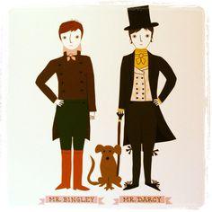 Mr. Bingley and Mr. Darcy