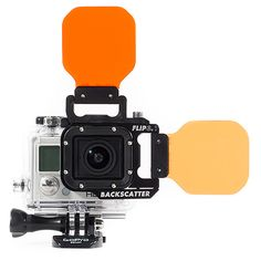 Backscatter GoPro Flip3.1 red filters...bought this for my GoPro & it's so easy to switch between shallow/dive for snorkeling & scuba diving