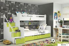 MAX 3 дитяче ліжко двох'ярусна ліжко BMS Group меблі для дитячої кімнати шпал: * низ: 200 * 120 * верх: 200 * 80 матрацом ліжко включена у вартість проживання.