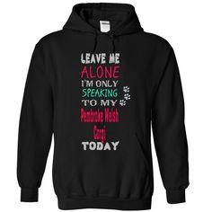 PEMBROKE WELSH CORGI T-Shirts, Hoodies. GET IT ==► https://www.sunfrog.com/Pets/PEMBROKE-WELSH-CORGI-5565-Black-12418490-Hoodie.html?41382
