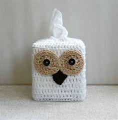 Resultado de imagen de crochet owl toilet paper cover