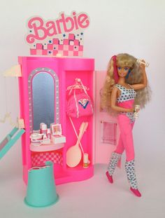 Barbie All Stars Sports Club Playset by Mattel, 1989