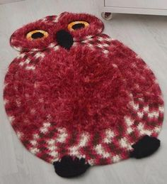 the owl ffrug - fully charted crochet fun!
